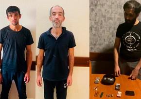 Bakıda narkotik satışı ilə məşğul olan 3 nəfər saxlanılıb