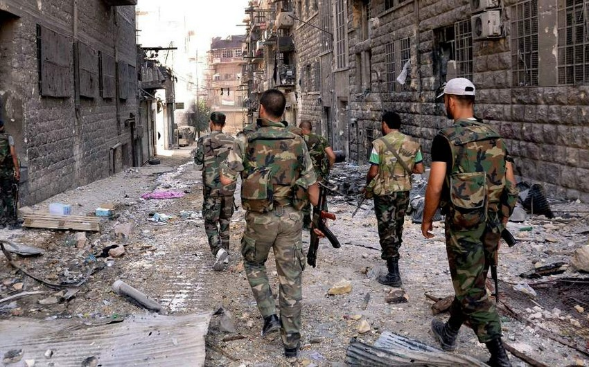 Suriya ordusu Homsda neft yataqları üzərində nəzarəti bərpa edib