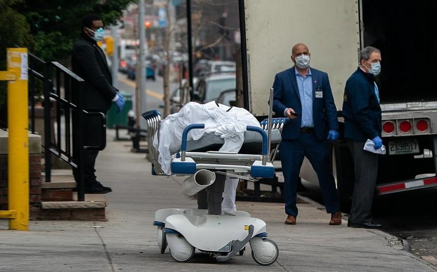 ABŞ-da bir gündə koronavirusdan 1 359 nəfər öldü