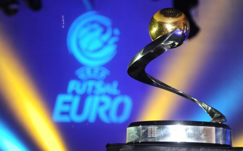 Futzal üzrə Avropa çempionatının final mərhələsinin təqvimi açıqlanıb