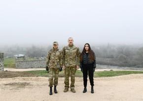 Фоторепортажпоездки Ильхама Алиева и Мехрибан Алиевой в особожденные земли