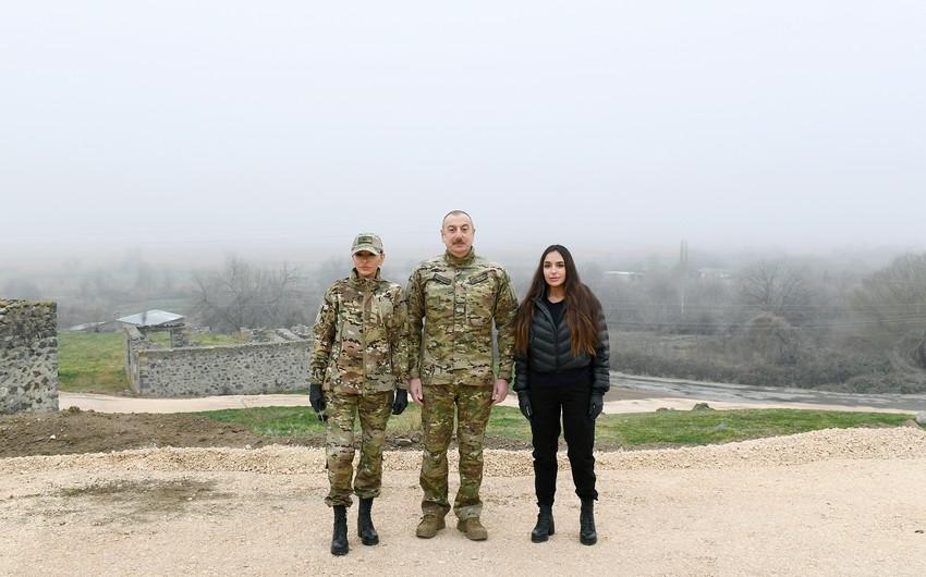 Photo report from visit of Ilham Aliyev and Mehriban Aliyeva to Fuzuli, Zangilan, Lachin and Jabrayil