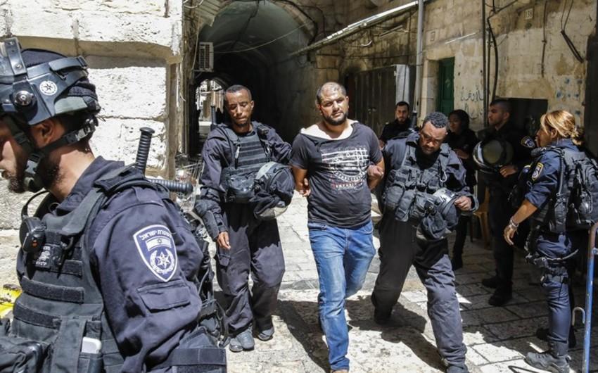 İsrail polisi Qüdsdəki etirazlarda 24 nəfəri saxlayıb