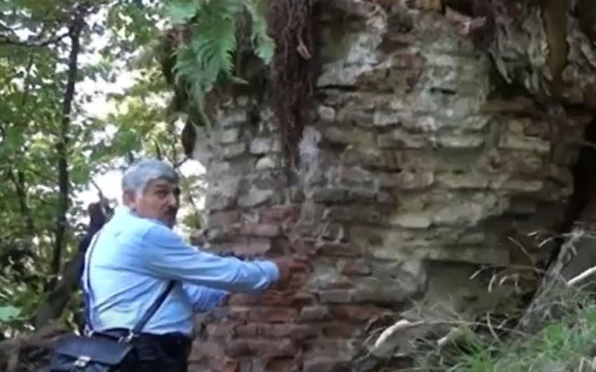 Bizansdan xərac alan, Babəkin sığındığı, xürrəmilərin diri-diri basdırıldığı qala - VİDEOREPORTAJ
