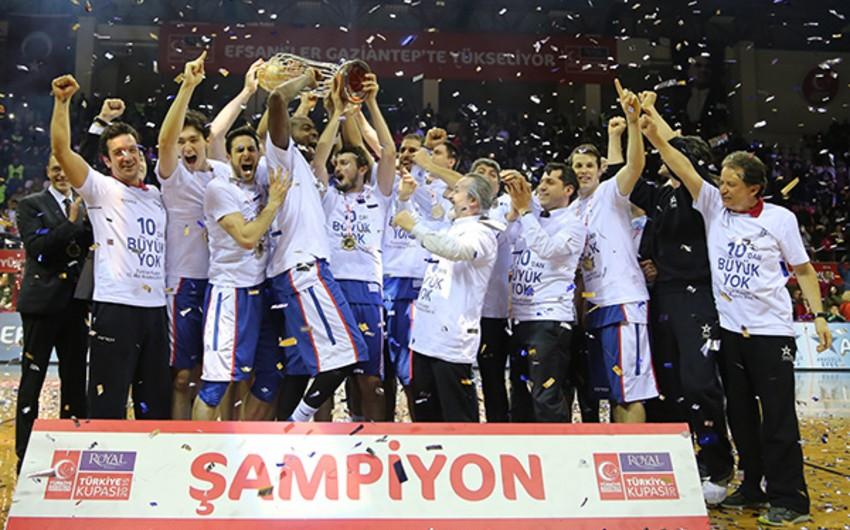 Basketbol üzrə Türkiyə kubokunun qalibi müəyyənləşib
