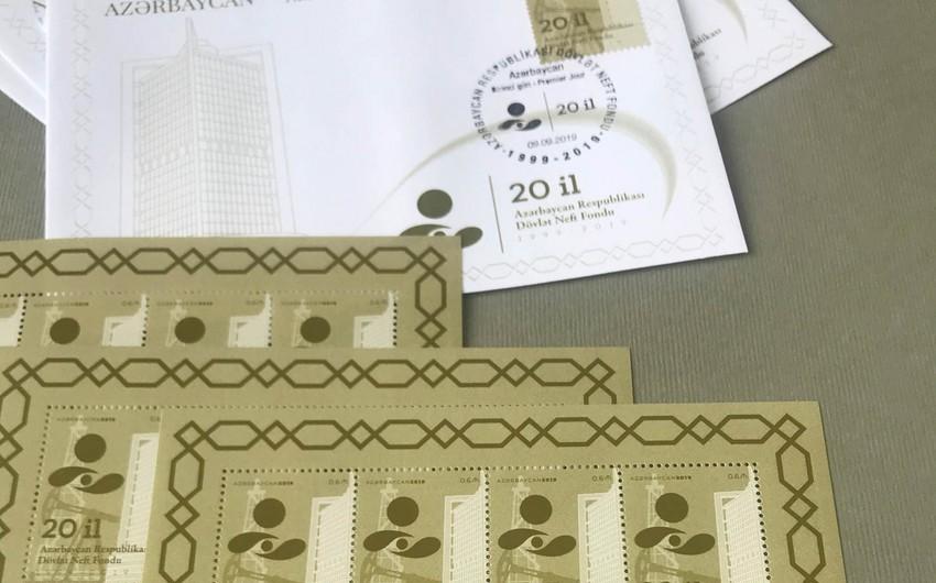 ARDNF-in 20 illiyinə həsr edilmiş poçt markaları buraxılıb