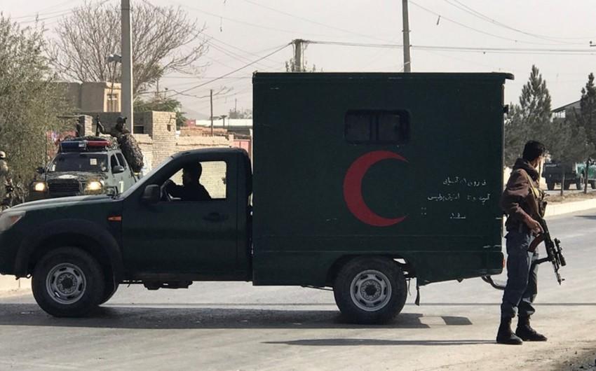"""Əfqanıstanda """"Taliban""""ın hücumu nəticəsində 8 polis ölüb, 3-ü yaralanıb"""