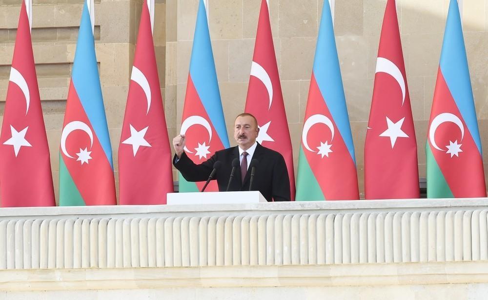 İlham Əliyev: Bu gün Azərbaycan Ordusu dünya miqyasında 50 ən güclü ordu sırasındadır