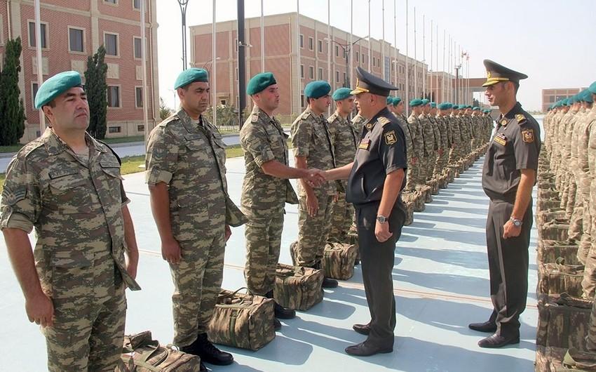 Group of Azerbaijani peacekeepers sent to Afghanistan - VIDEO