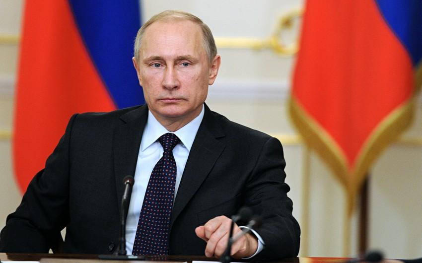 Rusiya prezidenti ABŞ ilə plutoniumun utilizasiyası barədə sazişə xitam verib
