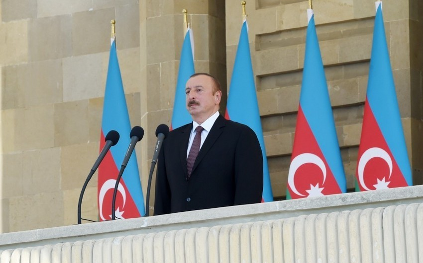 President: Azerbaijan will never accept occupation