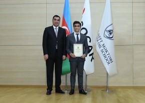 Выпускник БВШН назван Успешным студентом года