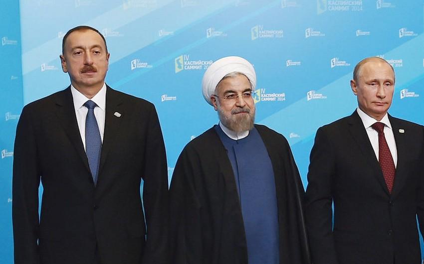 İran, Rusiya və Azərbaycan prezidentlərinin görüşü nəzərdə tutulub