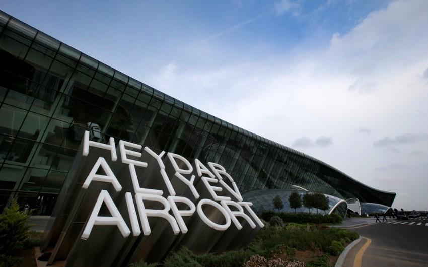 Bakı aeroportunun sərnişin dövriyyəsi 27% artıb