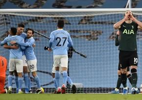 Манчестер Сити разгромил Тоттенхэм в матче АПЛ