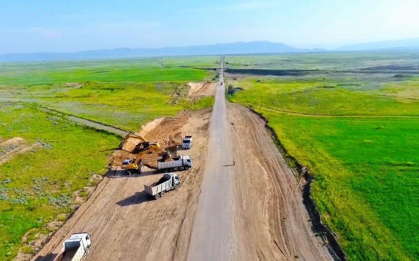 Bərdə - Ağdam avtomobil yolunun tikintisinə başlanılıb