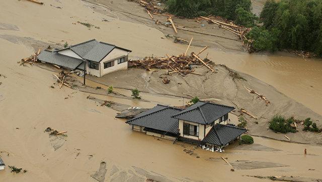 Число жертв паводков в Японии достигло 41 - ОБНОВЛЕНО