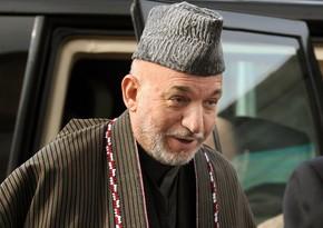 """Həmid Karzay Pəncşirdəki qüvvələrlə """"Taliban""""ı dialoqa çağırıb"""