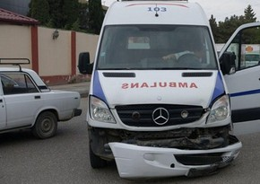 Kürdəxanıda ağır yol qəzasında altı nəfər yaralandı