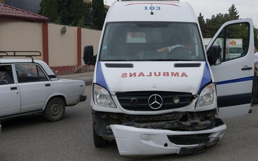 В Кюрдаханы произошло тяжелое ДТП