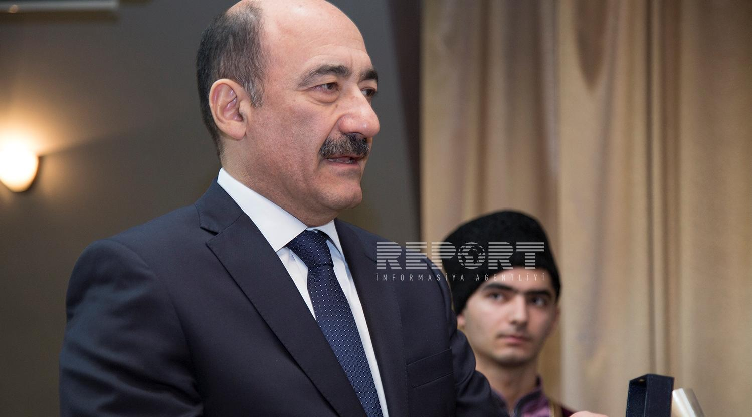 Abulfas Garayev: About 160 houses of culture and clubs in a poor condition