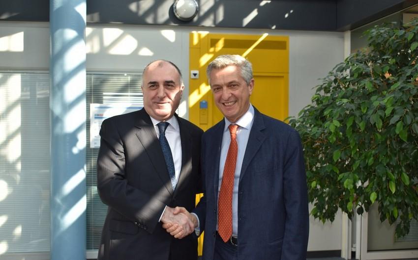 Elmar Mammadyarov met with UN High Commissioner for Refugees Filippo Grandi in Geneva