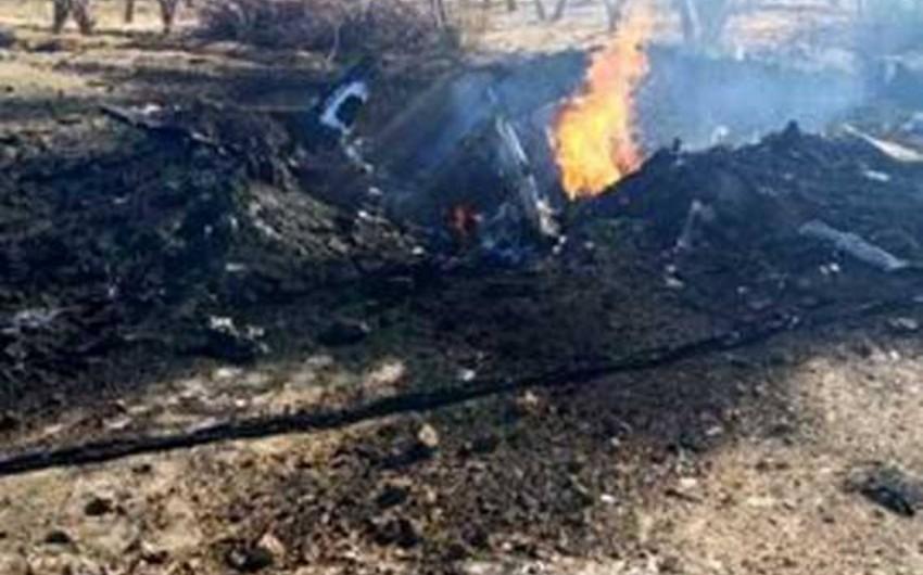 Pakistanda qırıcı təyyarə qəzaya uğrayıb, pilot ölüb