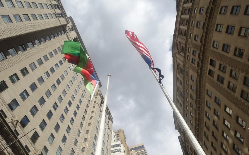 ABŞ-ın ən izdihamlı yerlərindən birində Azərbaycan bayrağı ucaldılacaq