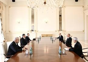 Ильхам Алиев принял министра нефти Ирака