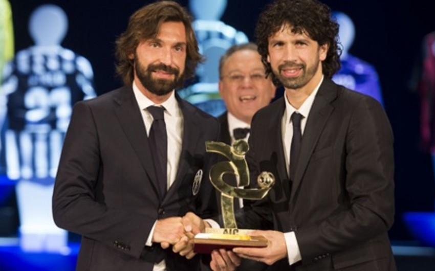 Antonio Pirlo İtaliyanın ən yaxşı futbolçusu seçilib