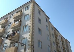İki il əvvəl partlayış zamanı dağılan binanın yerində inşa edilən yeni binaya qaz verildi