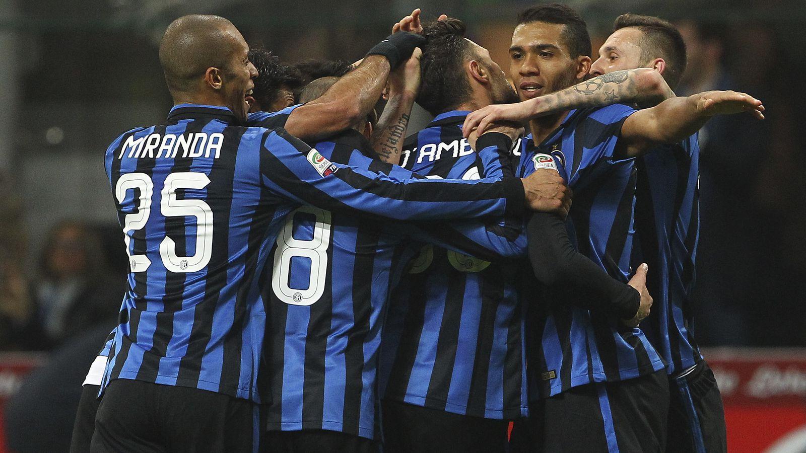 Интер прервал серию из восьми матчей без побед в чемпионате Италии - ВИДЕО