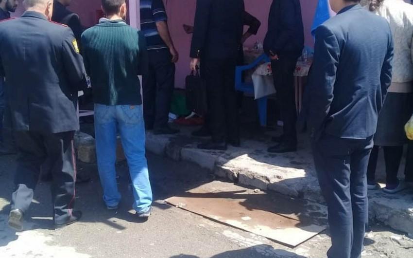 Bərdədə bazarda ölüm hadisəsi baş verib