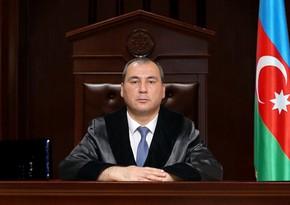 В Азербайджане судья назначен председателем суда