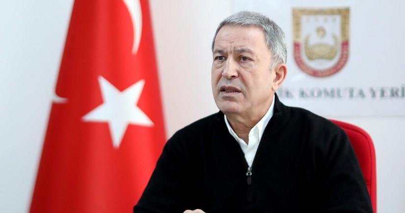 """Hulusi Akar: """"Azərbaycan """"Bir Vətən Əməliyyatı""""nı uğurla həyata keçirdi"""