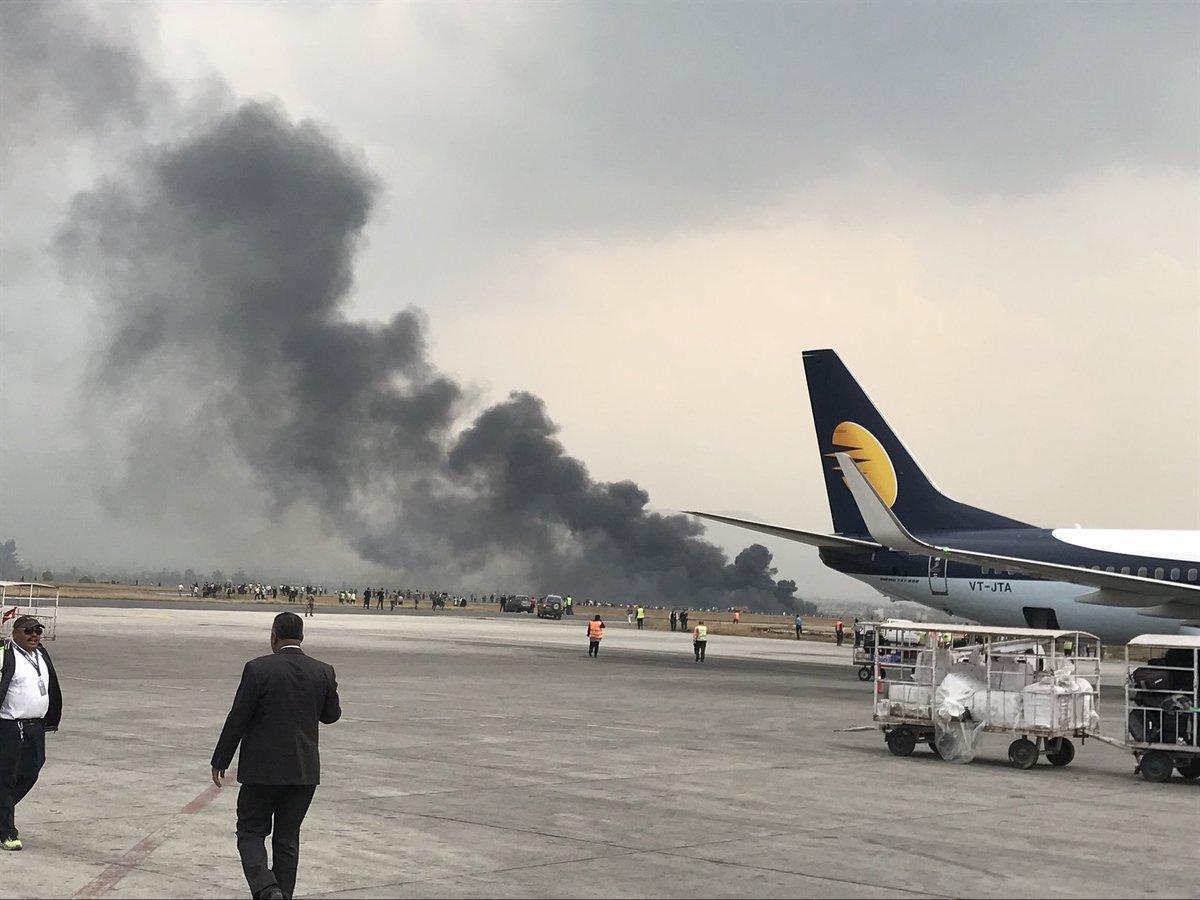 Пассажирский самолет потерпел крушение в Непале, десятки погибших и раненых - ФОТО - ВИДЕО - ОБНОВЛЕНО