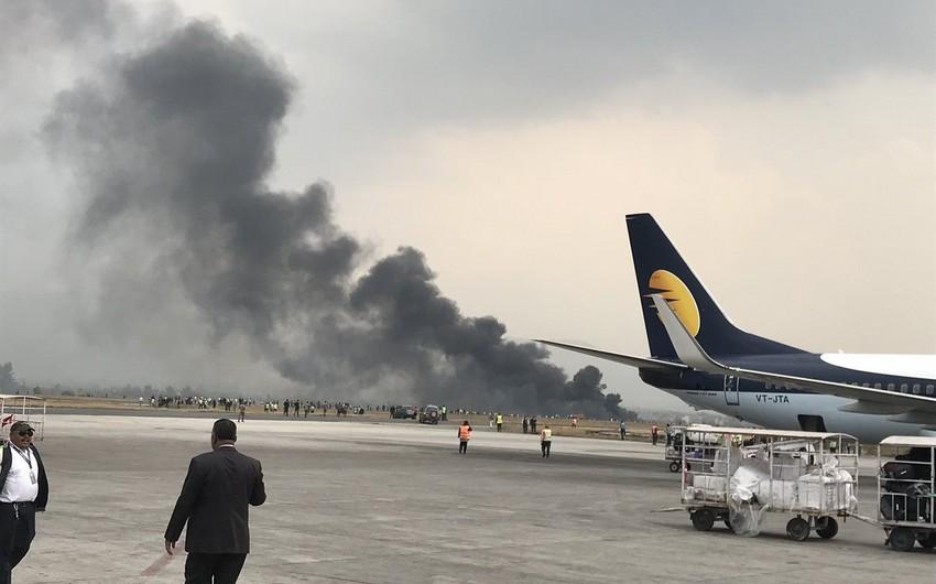 Passenger plane crashes in Nepal - PHOTO