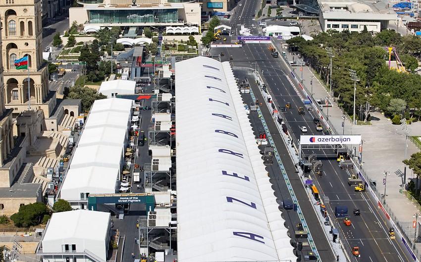 Bakı Formula 1 Azərbaycan Qran-Prisinə tam hazırdır