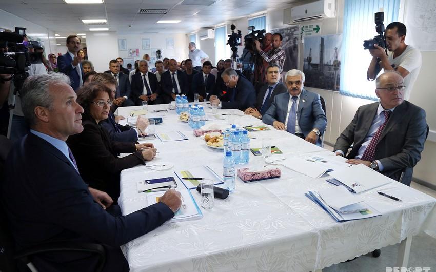 """SOCAR prezidenti """"Şahdəniz -2"""" layihəsi üzrə işlərin gedişi ilə maraqlanıb"""