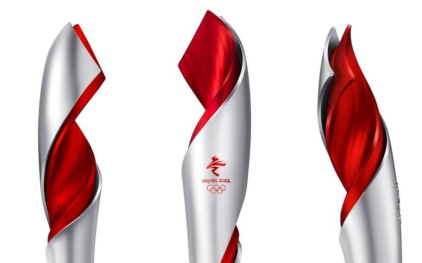 Pekin-2022: Olimpiya məşəlinin dizaynı təqdim olundu