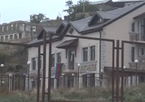 Footage of liberated Talish village