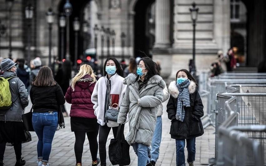 Fransada koronavirusdan ölənlərin sayı artdı