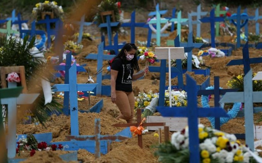 Braziliyada 70 mindən çox şəxs infeksiyadan öldü