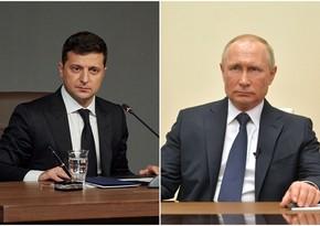 Zelenski görüşmək üçün Putinə müraciət edib
