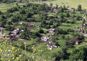 Footage from Bozlu village of Lachin