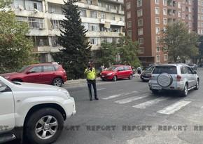 Дорожная полиция: Продолжаем работать в усиленном режиме на территории Баку