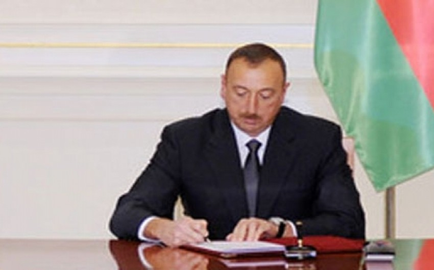 President Ilham Aliyev signs Memorandum on cooperation between Azerbaijan and Iran
