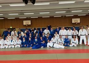 Azerbaijani judokas train for Olympics in Germany