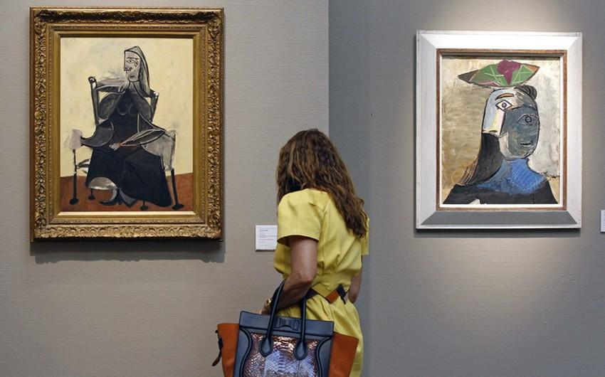 Pablo Pikassonun məşhur tablosu 63,4 milyon dollara satılıb