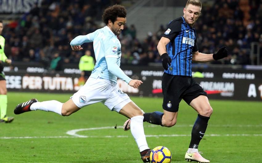 Интер и Лацио сыграли вничью в матче чемпионата Италии - ВИДЕО